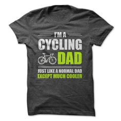 CYCLING DAD T Shirts, Hoodies, Sweatshirts. GET ONE ==> https://www.sunfrog.com/Fitness/CYCLING-DAD-60120007-Guys.html?41382