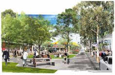 We have reached the concept design milestone on the MainStreet project at Curtin University. Here is a sneak peak of the design.  Click to view larger images It has been a long and collaborative process with our colleagues at NSProjects, Pitchard Francis and ETC...