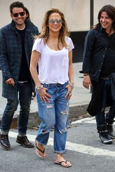 I'm a 90's girl,,Love this from head to toe!! Could This Hairstyle Be Making a Comeback? Jennifer Lopez Is Leading the Charge