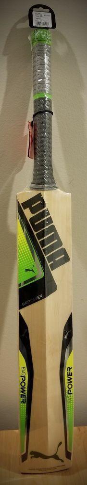 Puma Cricket Bat EvoPOWER Grade 1 English Willow (Original) SH #PUMA