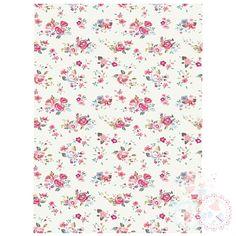 Ditsy Bright Roses A4 Edible Printed Sheet