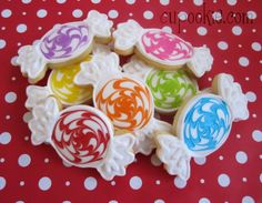 adorable candy cookies