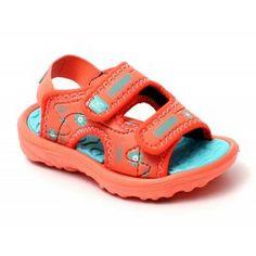 Sandalia niña Tenth Ad Sandal rojo coral