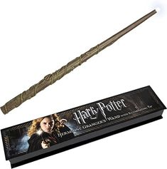 The Noble Collection Hermione Granger's Illuminating Wand : Amazon.com.au: Toys & Games Hermione Granger, Harry And Hermione, Harry Potter Light, Harry Potter Shop, Hermiones Wand, Unique Gifts For Kids, Cute Stockings, Dude Perfect, Daughter Love