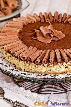 Se amate il #tiramisù, allora non potete perdervi la sua versione #cheesecake! Qui la #ricetta #GialloZafferano: http://ricette.giallozafferano.it/Cheesecake-tiramisu.html