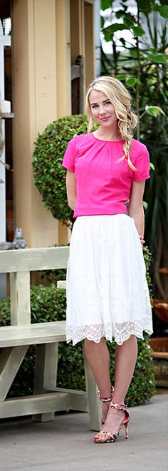 Hot Pink Top [MTS9021] - $39.99 : Mikarose Boutique, Reinventing Modesty
