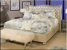 thinking wanting redo bedroom in hollywood glam