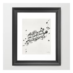 Society6 This Is Why We Can't Have Nice Things Framed Art Print ($35) ❤ liked on Polyvore featuring home, home decor, wall art, framed art prints, cat painting, cat face painting, acrylic painting, wall paintings and black and white framed wall art