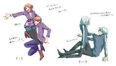 Fate Zero Genderbend <3 Kariya and Rienosike?