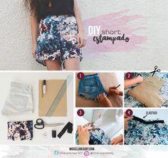 DIY sewing | Pantalón corto | Fabric shorts