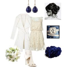 Courthouse Wedding, created by anniepro on Polyvore