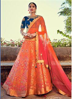 Innovative Banarasi Silk Lehenga