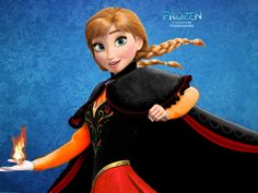 Anna the Fire Princess by wolfskyla on DeviantArt Funny Princess, Disney Princess Frozen, Frozen Elsa And Anna, Disney Princesses, Ellie Goulding Songs, Frozen Story, Scared Of The Dark, Disney Logo, Frozen Wallpaper