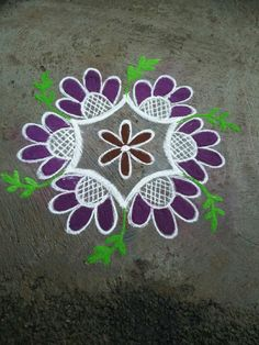 dot rangoli designs online for festivals and occasions. Browse over hundreds of similar images, ideas and wallpapers to try. Indian Rangoli Designs, Simple Rangoli Designs Images, Rangoli Designs Flower, Rangoli Border Designs, Rangoli Patterns, Rangoli Ideas, Rangoli Designs With Dots, Flower Rangoli, Rangoli With Dots