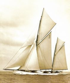 """The Cariad, named after the Welsh word for """"Sweetheart"""" was built by Summers & Payne in Southampton for a Lord Dunraven in 1896 and is currently in magnificent condition, having undergone a full restoration in Satun, Thailand."""