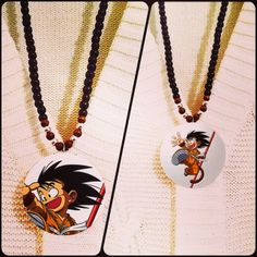 Dragon Ball Z charchter necklaces - unisex (male and female) of all ages*Double sided design