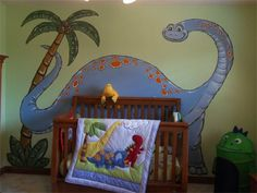 Wish I Could Find A Dinasour This So Cute For Boy Room Maggie Barth My Baby Dinosaur Nursery