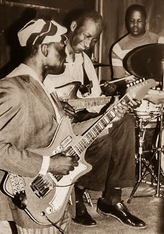J. B. Hutto, Hound Dog Taylor and Ted Harvey