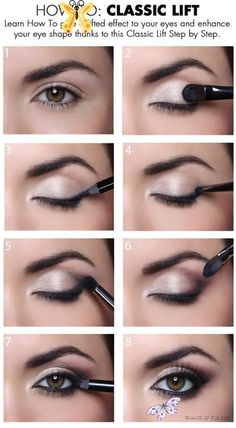 <br> Eye Makeup Diy, Applying Eye Makeup, Makeup Hacks, How To Apply Makeup, Simple Makeup, Makeup Tutorials, Makeup Ideas, Makeup Trends, Monolid Makeup