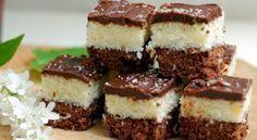 Et si vous faisiez une petite pause goûter ? Régalez-vous avec ces délicieuses bouchées fourrées à la noix de coco, recouvertes de glaçage chocolat ! Miam&nb...