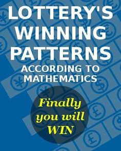 Win the lottery - Probability and actual draws correlates with each other as this article shows you how to win the lottery according to math.
