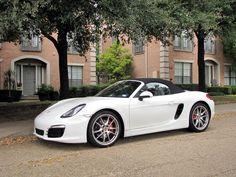 White Porsche Boxster S (Photo by Bill Orr) #MavPCA #PCA #Porsche #PorscheBoxster