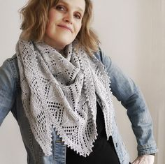 Ravelry: Project Gallery for Ruxton Shawl pattern by Dee O'Keefe