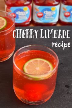 Cherry Limeade with