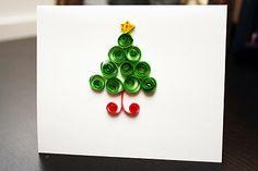 Yellow Blackbird: A Creative Blog: Quilled Christmas Cards