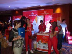 Degustación de Kuna Chia, hotel Hilton Colon Guayaquil, para la presentación de Sacha Fitnes.