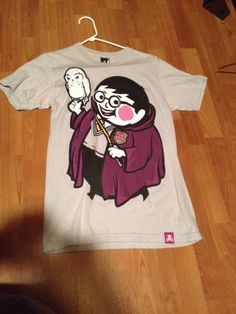 Johnny Cupcakes Harry Potter Mens Small T Shirt