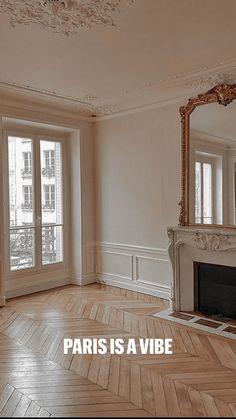 Parisian Decor, Parisian Apartment, Dream Apartment, Dream Home Design, My Dream Home, Home Interior Design, Classic Interior, My New Room, Home And Living