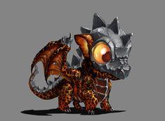ArtStation - My little Dragon, Prohibe Ben Naceur