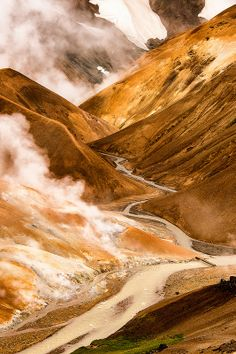 Hydrothermal Heaven | Kerlingarfjöll mountain range, Iceland