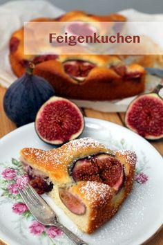 Rezept für einen wunderbar leckeren und lockeren Feigenkuchen, der mich an eine Zeit erinnert, die unser Leben gehörig auf den Kopf gestellt hat.