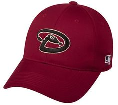 4b666b4f48b MLB ADULT Arizona DIAMONDBACKS Home Red Hat Cap Adjustable Velcro TWILL by  Cap. Save 59 Off!.  9.01. Great for all fans!. Great for Little legaue