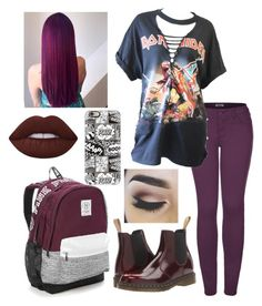 """""""Untitled #383"""" by lexi124 ❤ liked on Polyvore featuring 2LUV, Dr. Martens, Casetify and Victoria's Secret"""