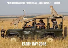 """The Good Man is the Friend of all living things"" - Gandhi Celebrating #earthday2016 #landroverpalmbeach #landrover #landroverusa #landrovers #africageographic #best4x4byfar #cheetahs #onelifeliveit #aboveandbeyond #africa #africansafari #gandhi #quoteoftheday #earthday #defender #defenders #defender90 #defender110 #defenderseries #landroverdefender #landroverdefenderseries #landy #mylandy #landylove #landroverheritage by landroverpalmbeach ""The Good Man is the Friend of all living things""…"