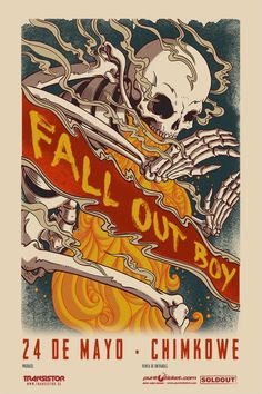Fall Out Boy - 24 de mayo - Chimkowe