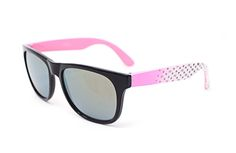 298be522e4f Childrens Kids Classic Style Sunglasses in Black Pink Blue White Purple  Spotty multi colour and Red Classic Shades