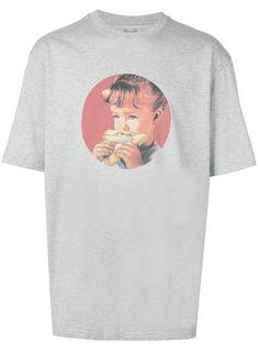 Palace munchy print T-shirt - Grey Streetwear, Sneaker Store, Size Clothing, Palace, Women Wear, Short Sleeves, Shops, Tees, Mens Tops