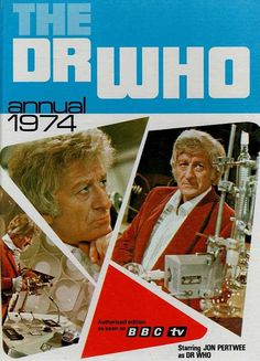 Doctor Dr Who Annual 1974 From Classic Vintage Science Fiction Sci Fi TV Series Sci Fi Tv Series, Jon Pertwee, Classic Doctor Who, Who Book, Kids Tv, Classic Tv, Classic Movies, Dr Who, Childhood Memories