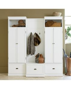 Owen Entryway Cabinet & Bench | Ballard Designs
