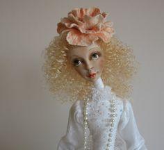 Marita Art doll- OOAK doll- Polimer clay doll- Handmade doll- Collecting doll