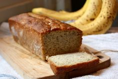 Julia's  Banana Bread Nonstick vegetable oil spray 1 3/4 cup all-purpose flour 1 1/2 teaspoons baking soda 3/4 teaspoon kosher salt 3 large eggs 1 1/2 cups sugar ...