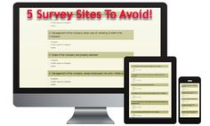 5 survey sites you should stay away from