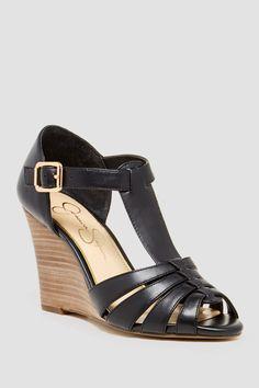 Rebi Wedge Huarache Sandal