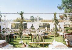 Mediterranean Inspired Feast: Francois & Corné's Wedding Wedding Reception, Our Wedding, Reception Ideas, Wedding Stuff, Wedding Ideas, Green Centerpieces, Wedding Decorations, Table Decorations, Real Weddings