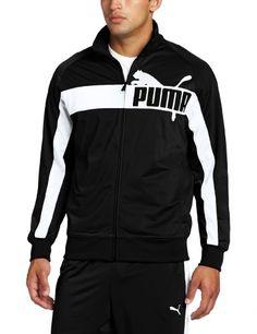PUMA Men's Full Zip Tricot Jacket, Black/White, Medium PUMA http://www.amazon.com/dp/B006VWJT26/ref=cm_sw_r_pi_dp_3OEsub11KC0M1