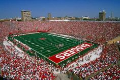 Camp Randall at the University of Wisconsin, Madison (where the Wisconsin Badgers play)